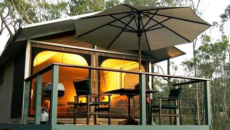 Jabiru Safari Lodge at Mareeba Wetlands