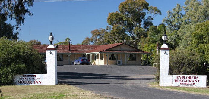 Burke and Wills Motor Inn - Moree - Accommodation in Surfers Paradise