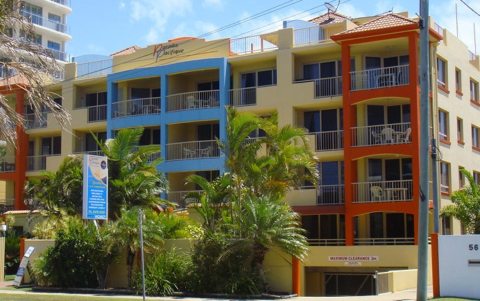 Paradis Pacifique - Accommodation in Surfers Paradise