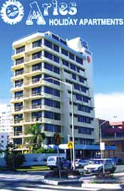 Aries Holiday Apartments - Accommodation in Surfers Paradise