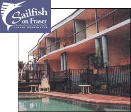 Sailfish On Fraser - Accommodation in Surfers Paradise