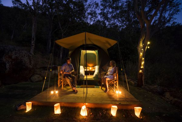 Keswick Island Camping and Glamping - Accommodation in Surfers Paradise