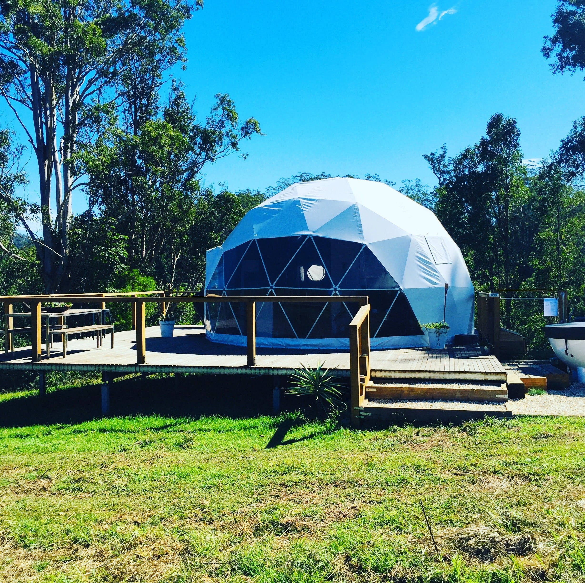 Nature Domes - Accommodation in Surfers Paradise