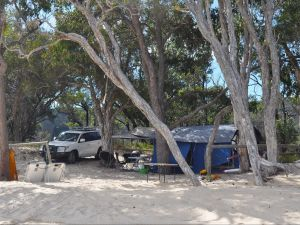 Moreton Island National Park and Recreation Area camping - Accommodation in Surfers Paradise