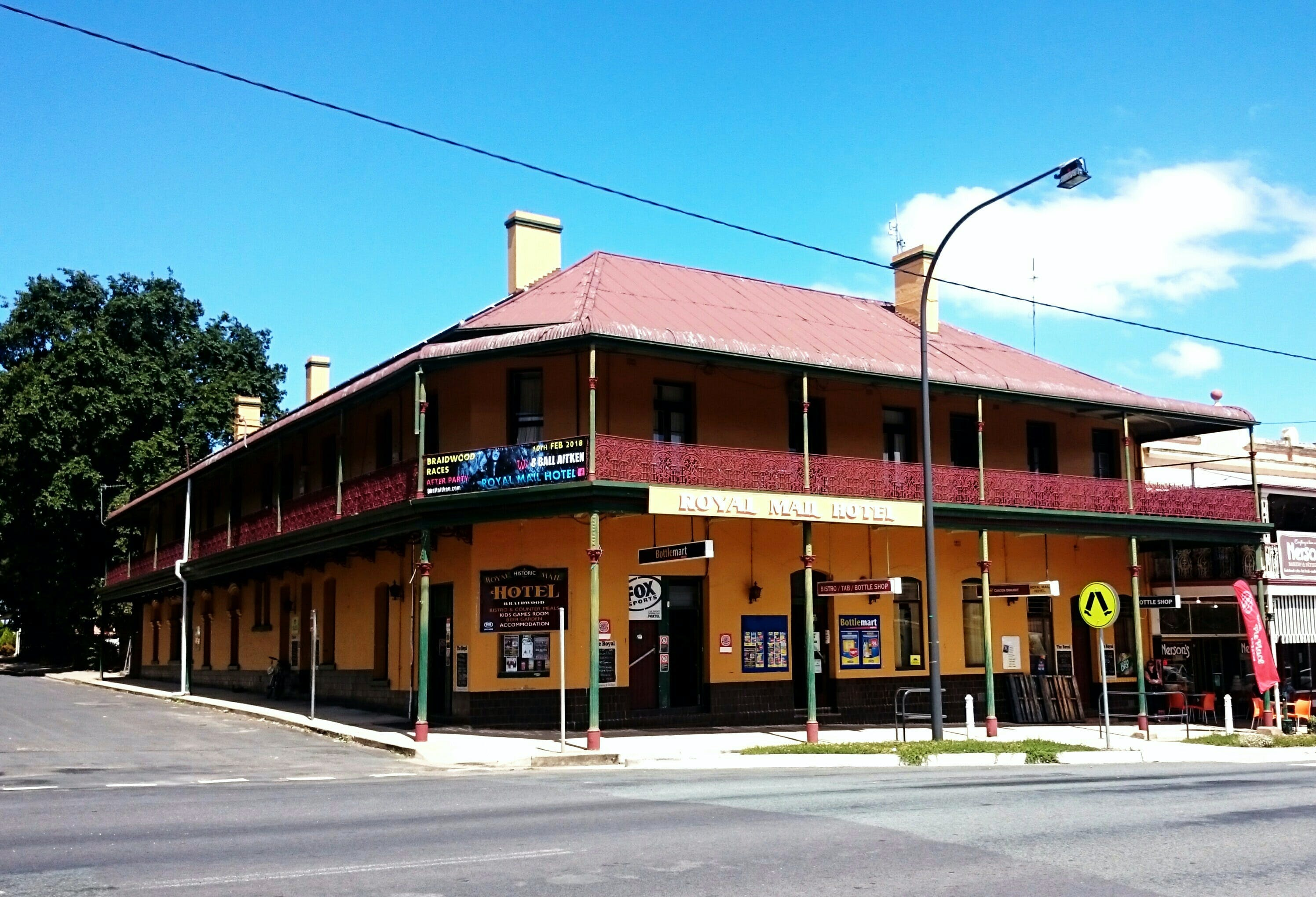 Royal Mail Hotel Braidwood - Accommodation in Surfers Paradise