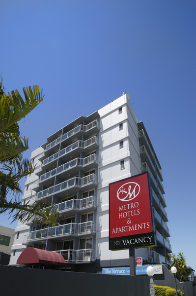 Metro Hotel  Apartments Gladstone - Accommodation in Surfers Paradise