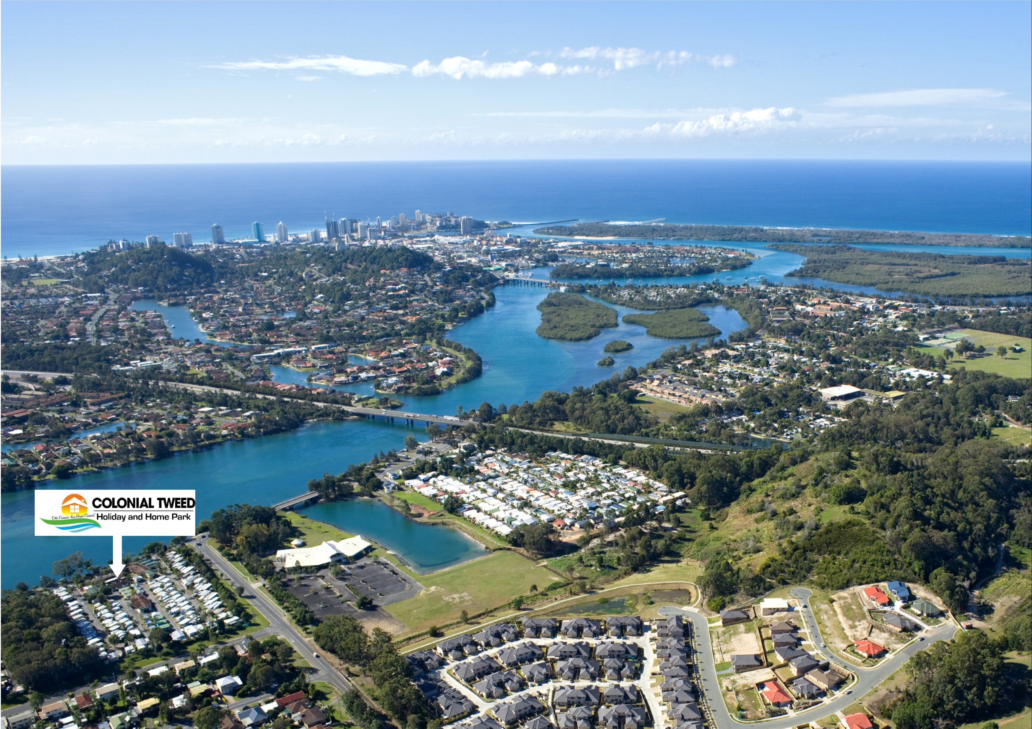 Colonial Tweed Holiday and Home Park - Accommodation in Surfers Paradise