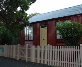 19th Century Portable Iron Houses - Accommodation in Surfers Paradise