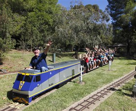 Willans Hill Miniature Railway - Accommodation in Surfers Paradise