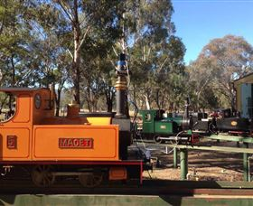 Mudgee Miniature Railway - Accommodation in Surfers Paradise