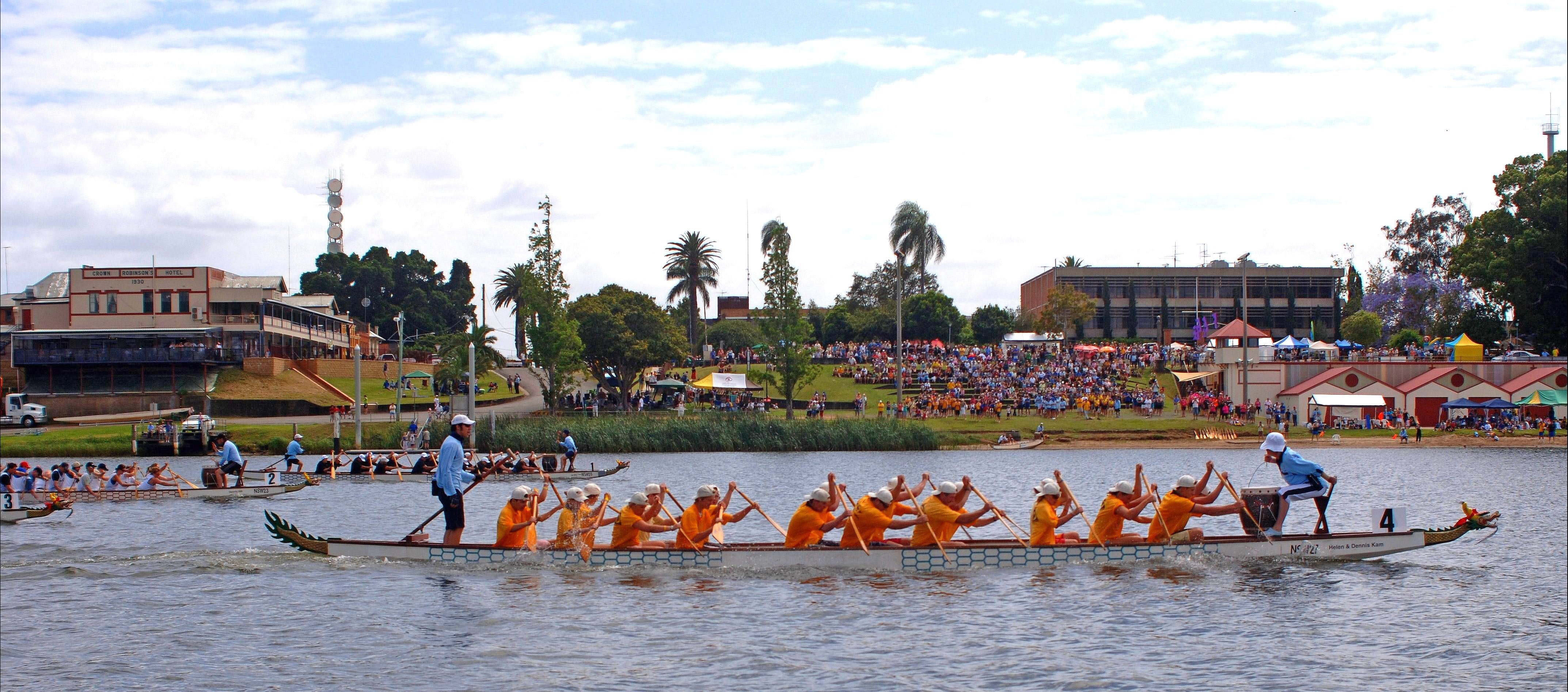 Jacaranda Dragon Boat Races - Accommodation in Surfers Paradise