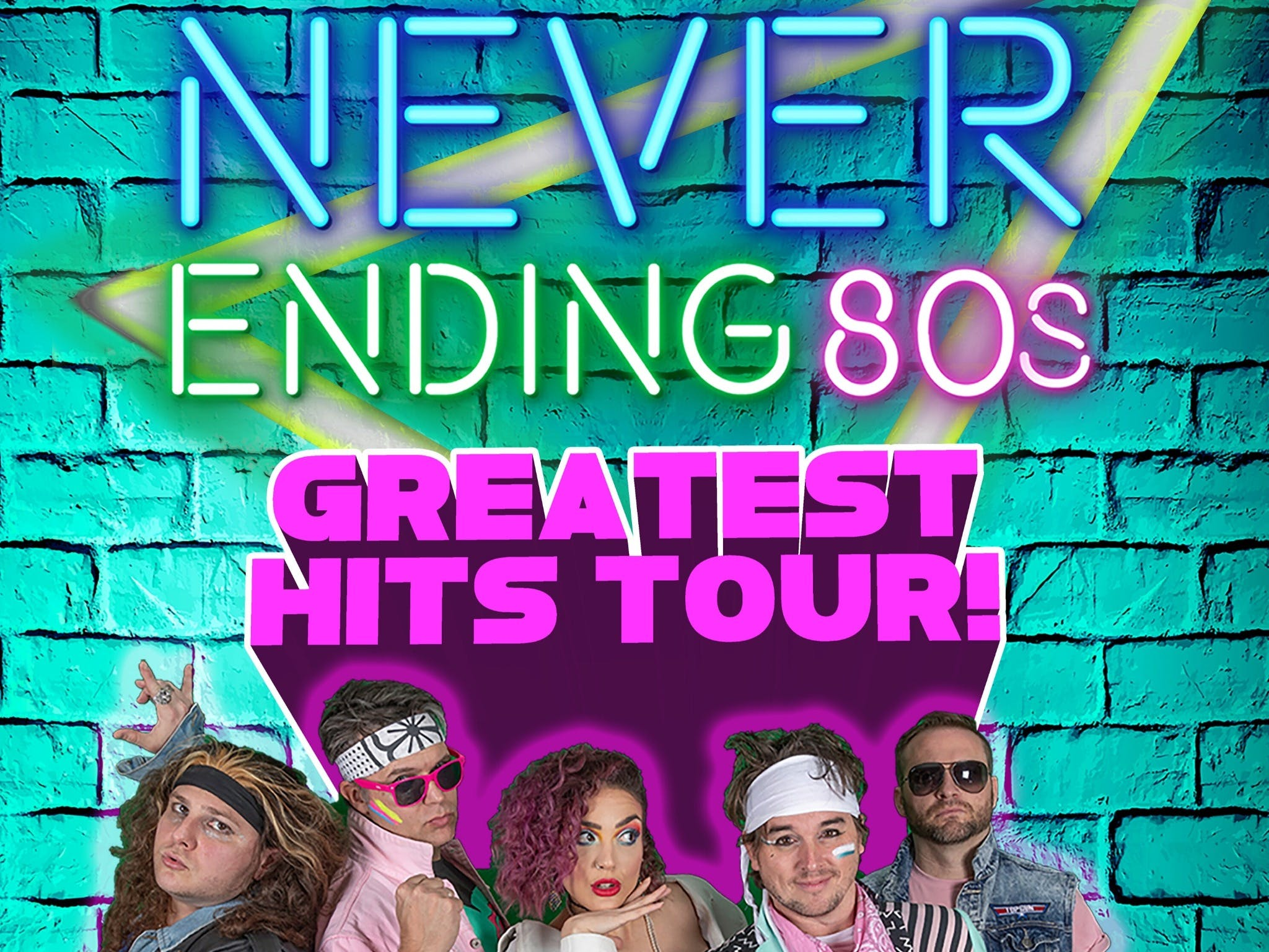 Never Ending 80s - The Greatest Hits Tour - Accommodation in Surfers Paradise
