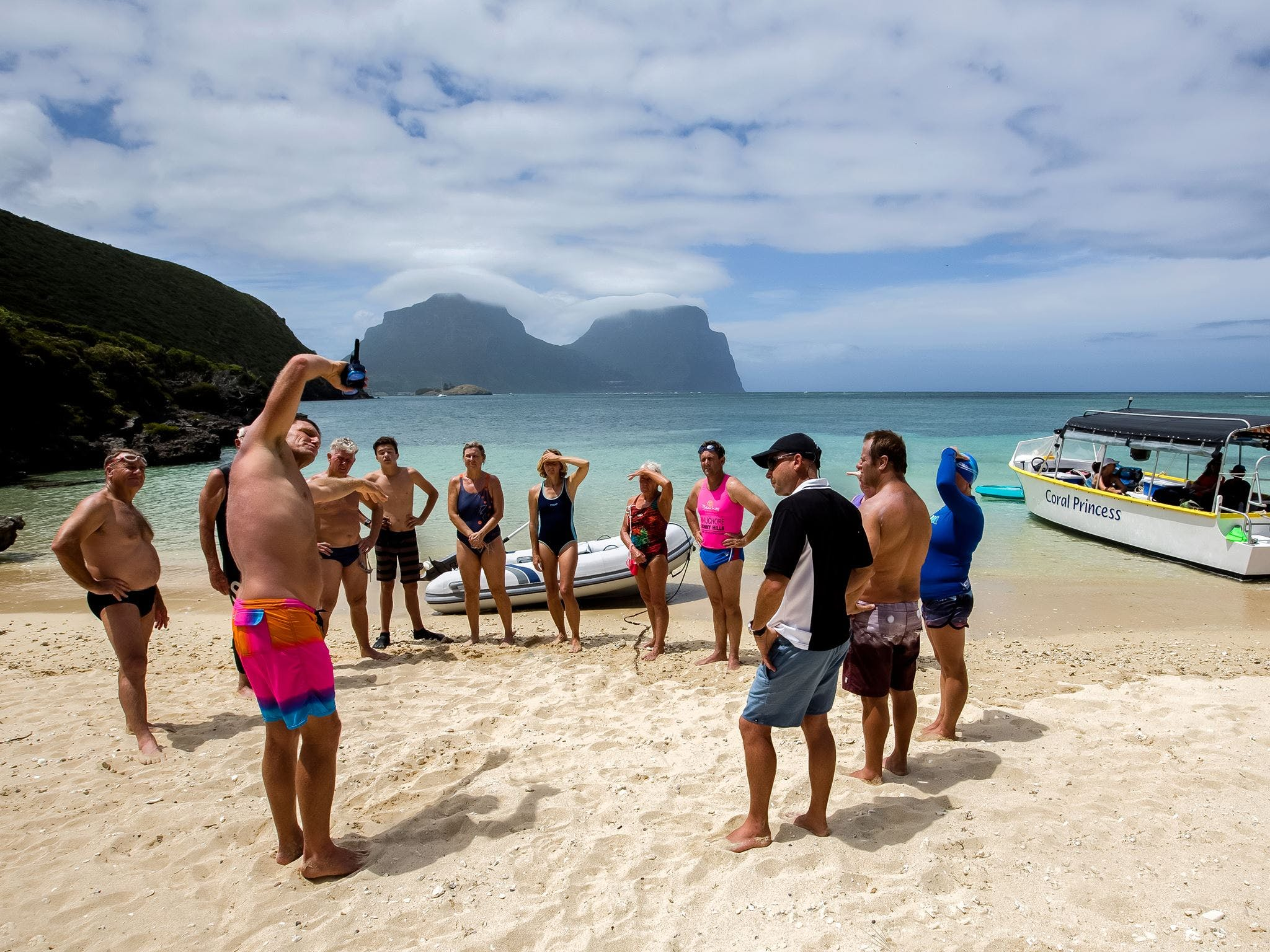 Ocean Swim Week with Trevor Hendy Pinetrees Lord Howe Island - Accommodation in Surfers Paradise