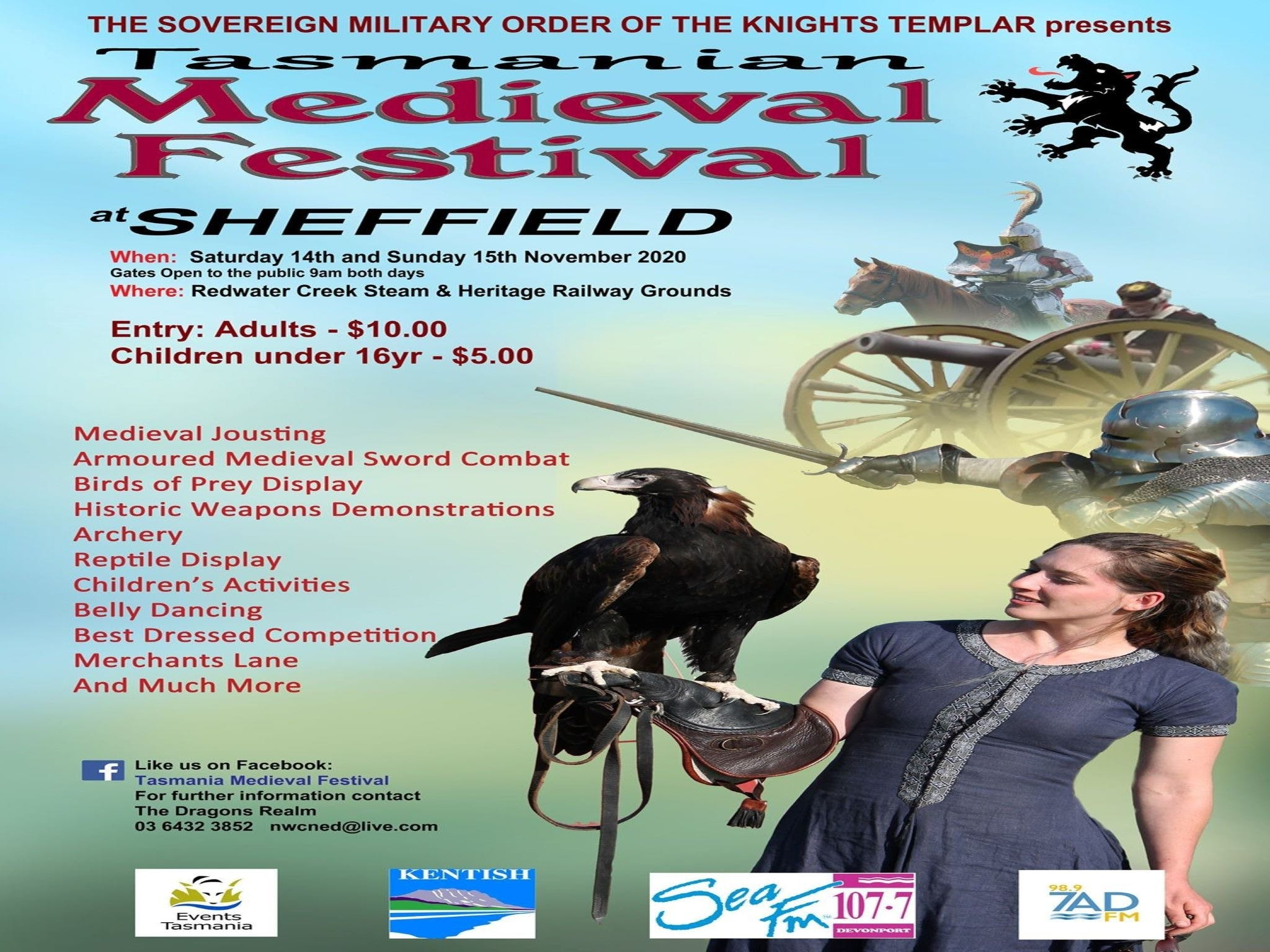 Sheffield Tasmania Medieval Festival 2020 - Accommodation in Surfers Paradise