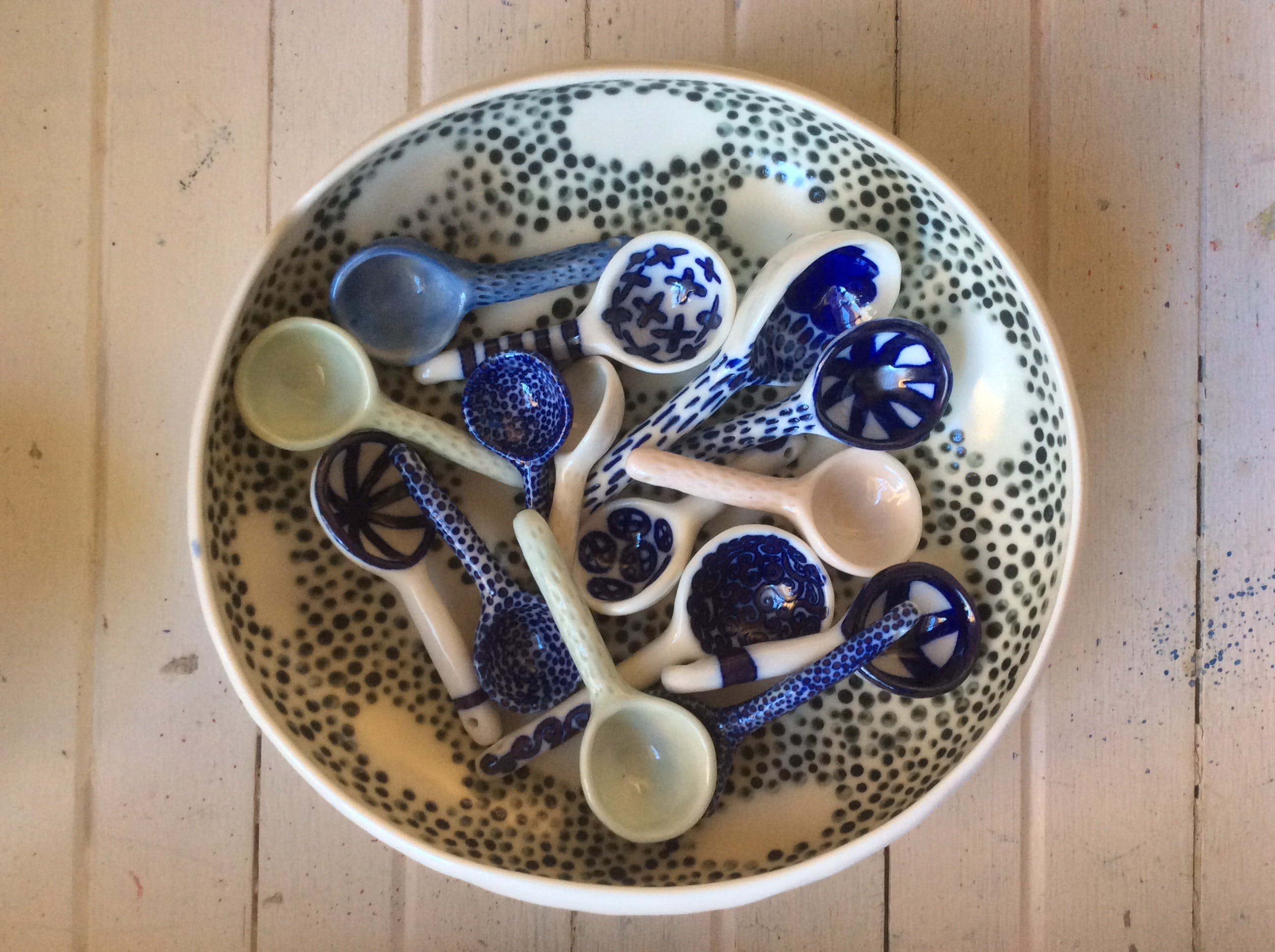 Ceramic Spoons with Nicole Ison - Accommodation in Surfers Paradise