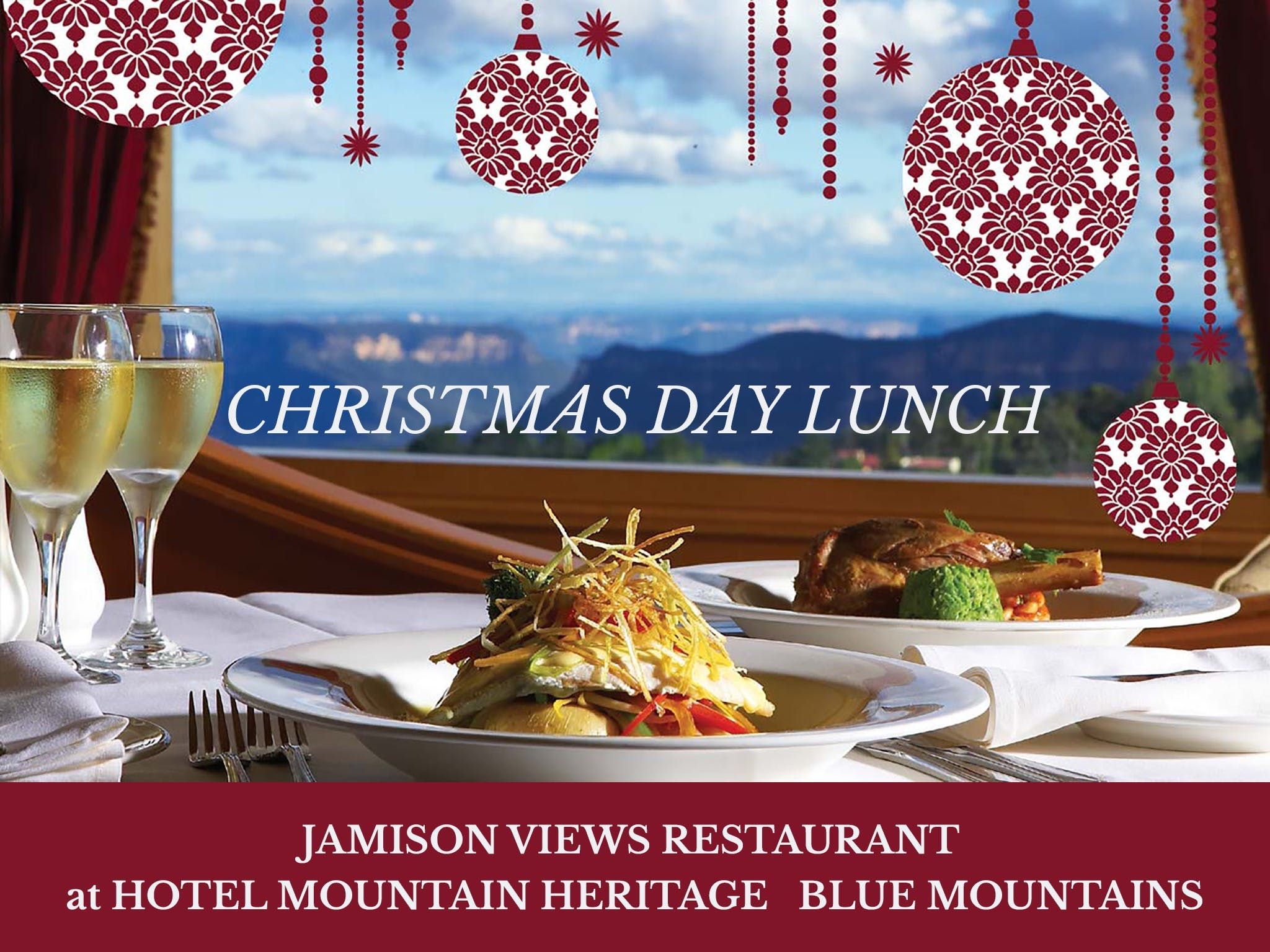 Christmas Day Lunch Hotel Mountain Heritage - Accommodation in Surfers Paradise