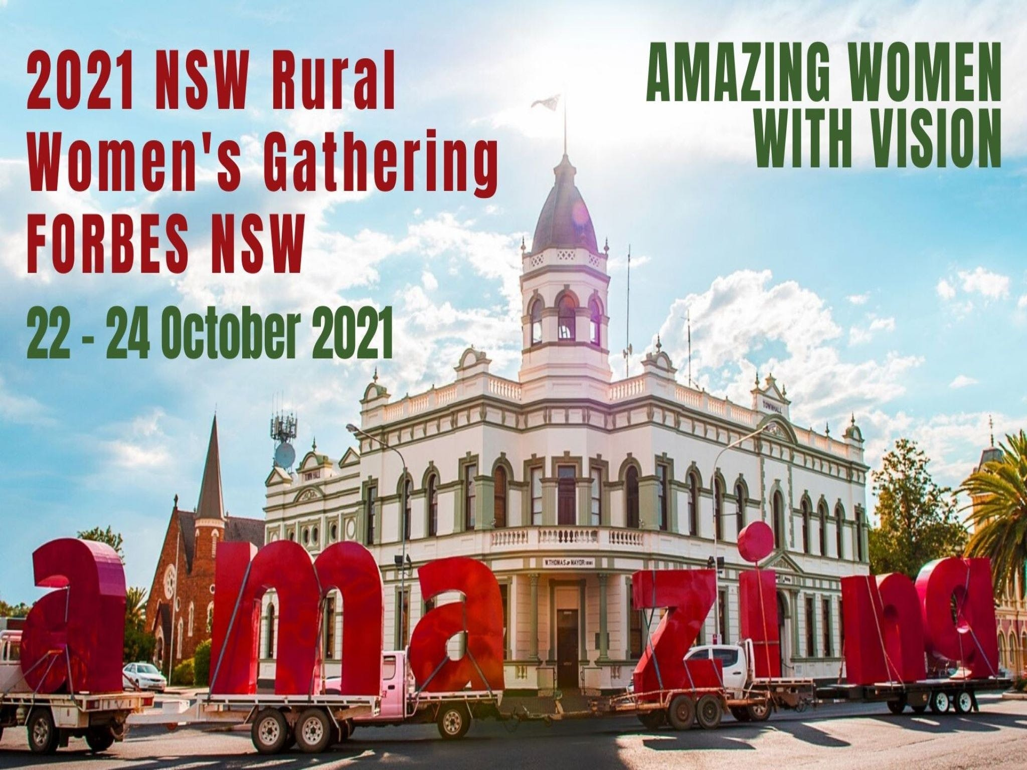 Forbes NSW Rural Women's Gathering - Accommodation in Surfers Paradise