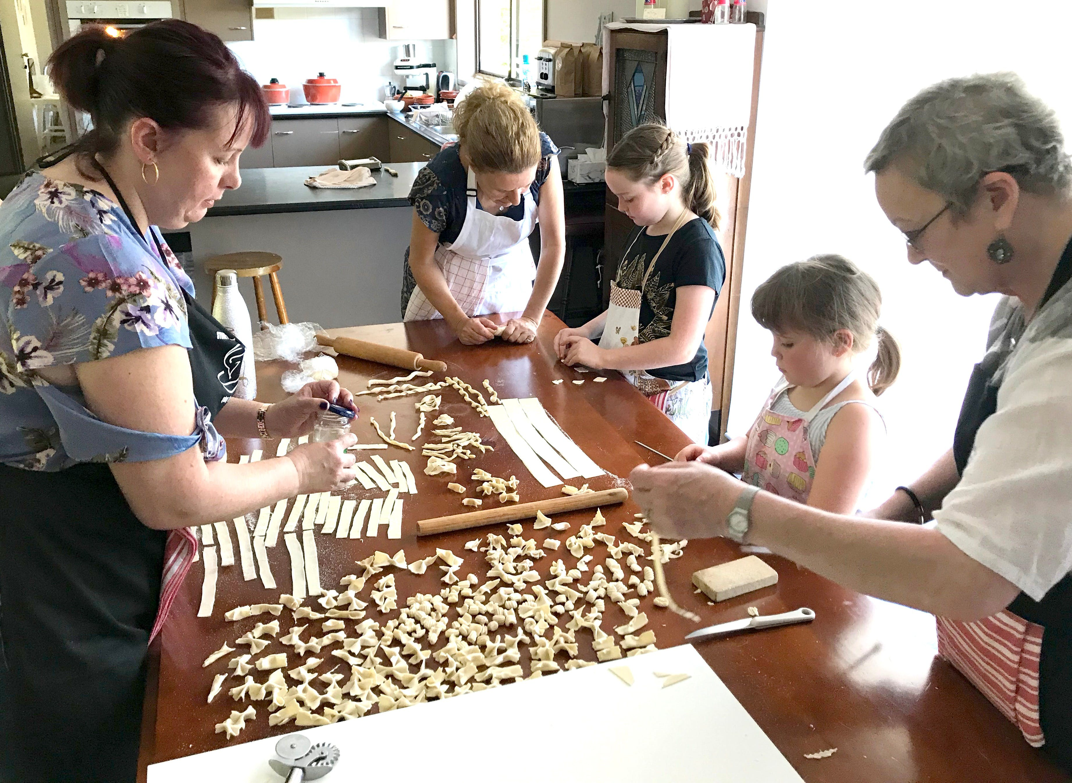 Kids Pasta Making Class - hands on fun at your house - Accommodation in Surfers Paradise