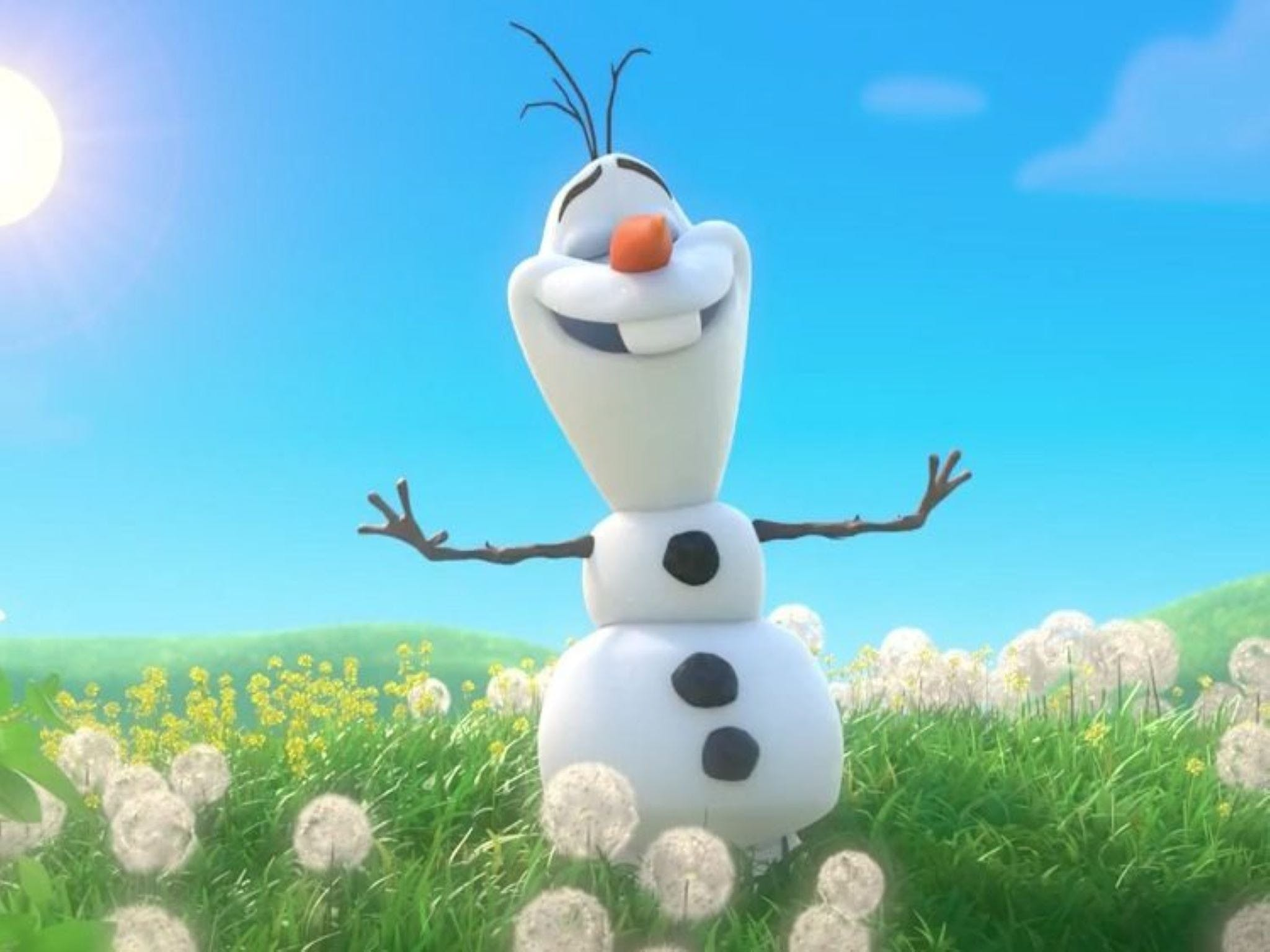 Meet Olaf from Frozen - Accommodation in Surfers Paradise