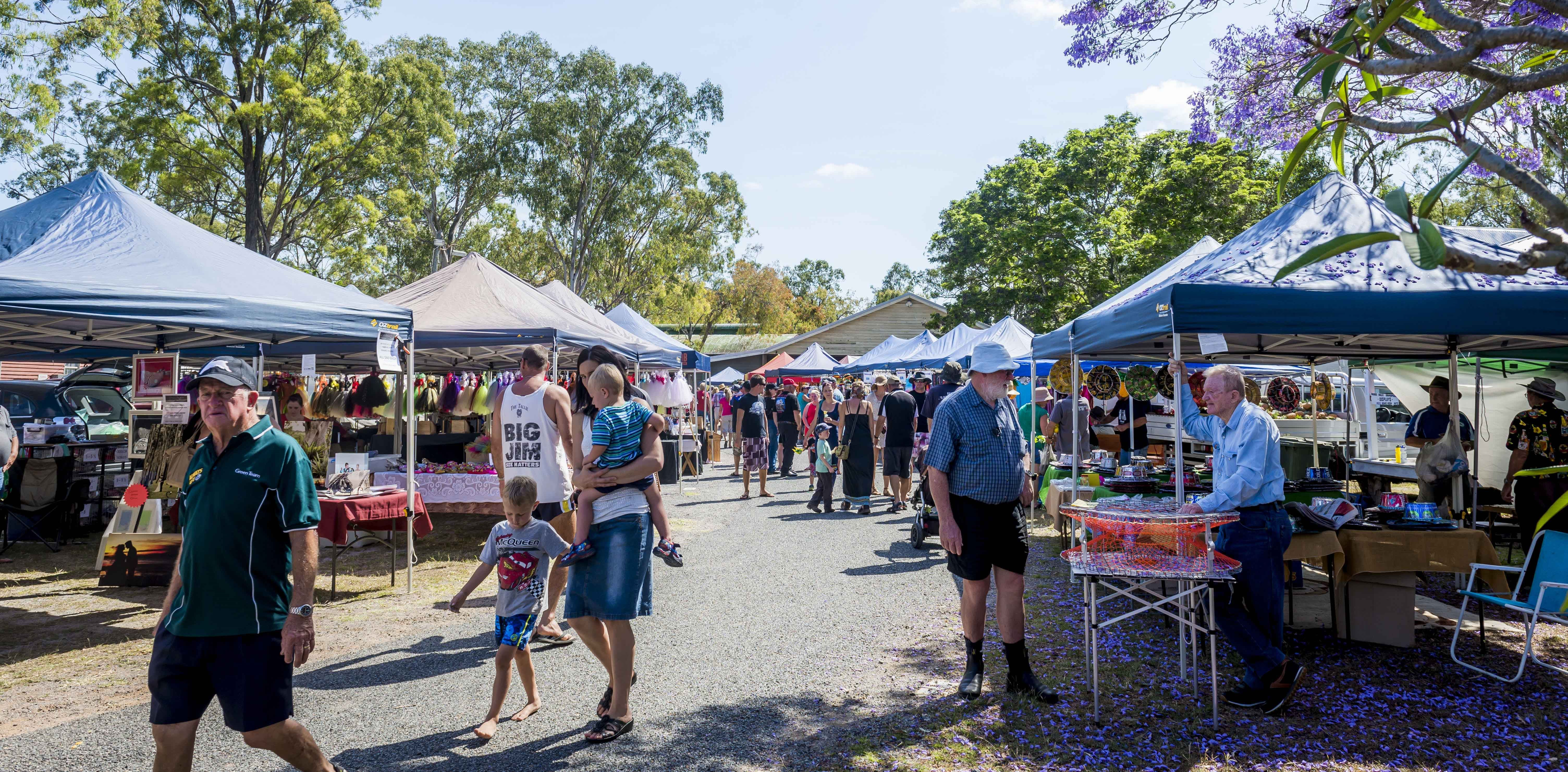 Calliope Historical Village Markets - Accommodation in Surfers Paradise