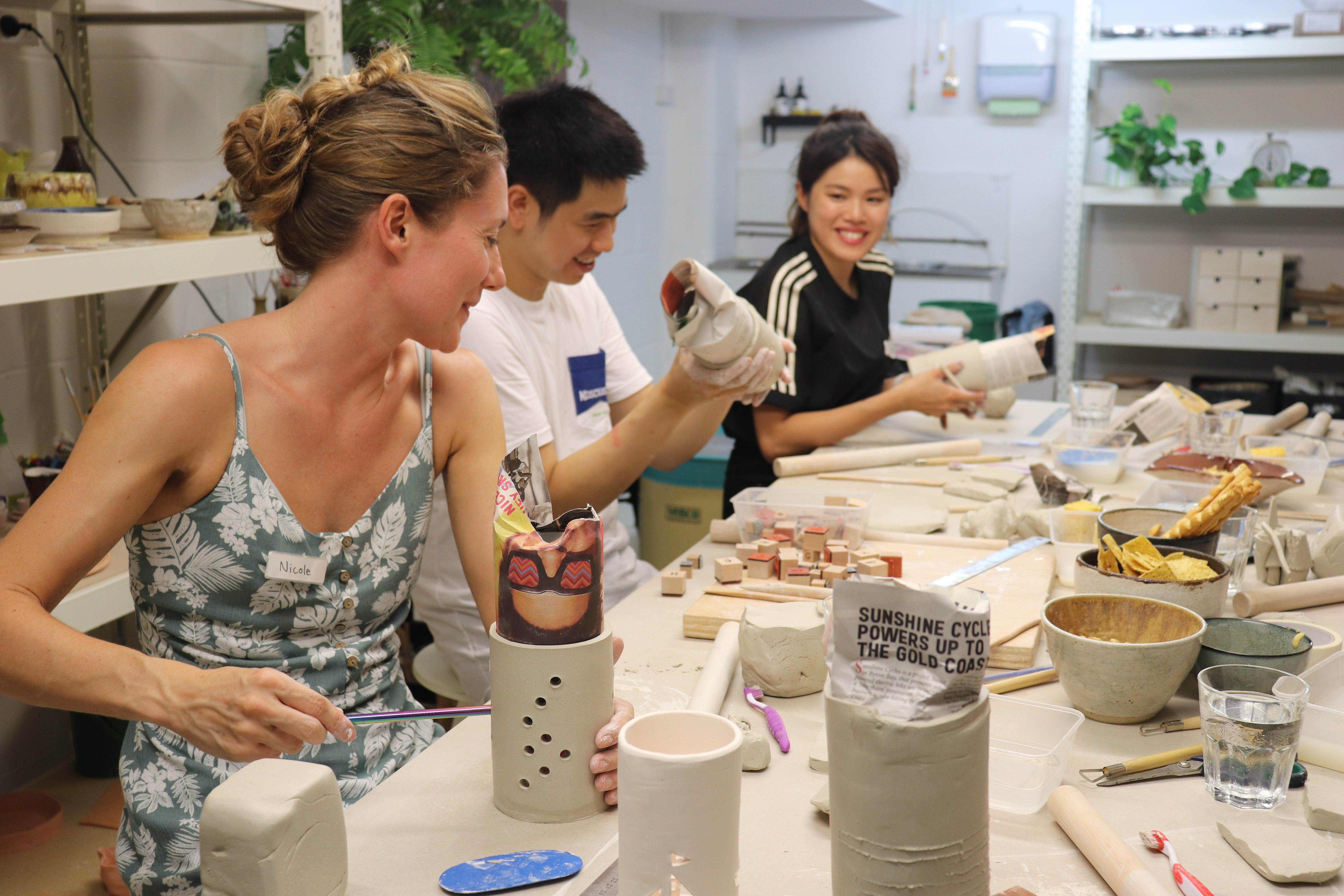 Hand Building Pottery Classes - Accommodation in Surfers Paradise