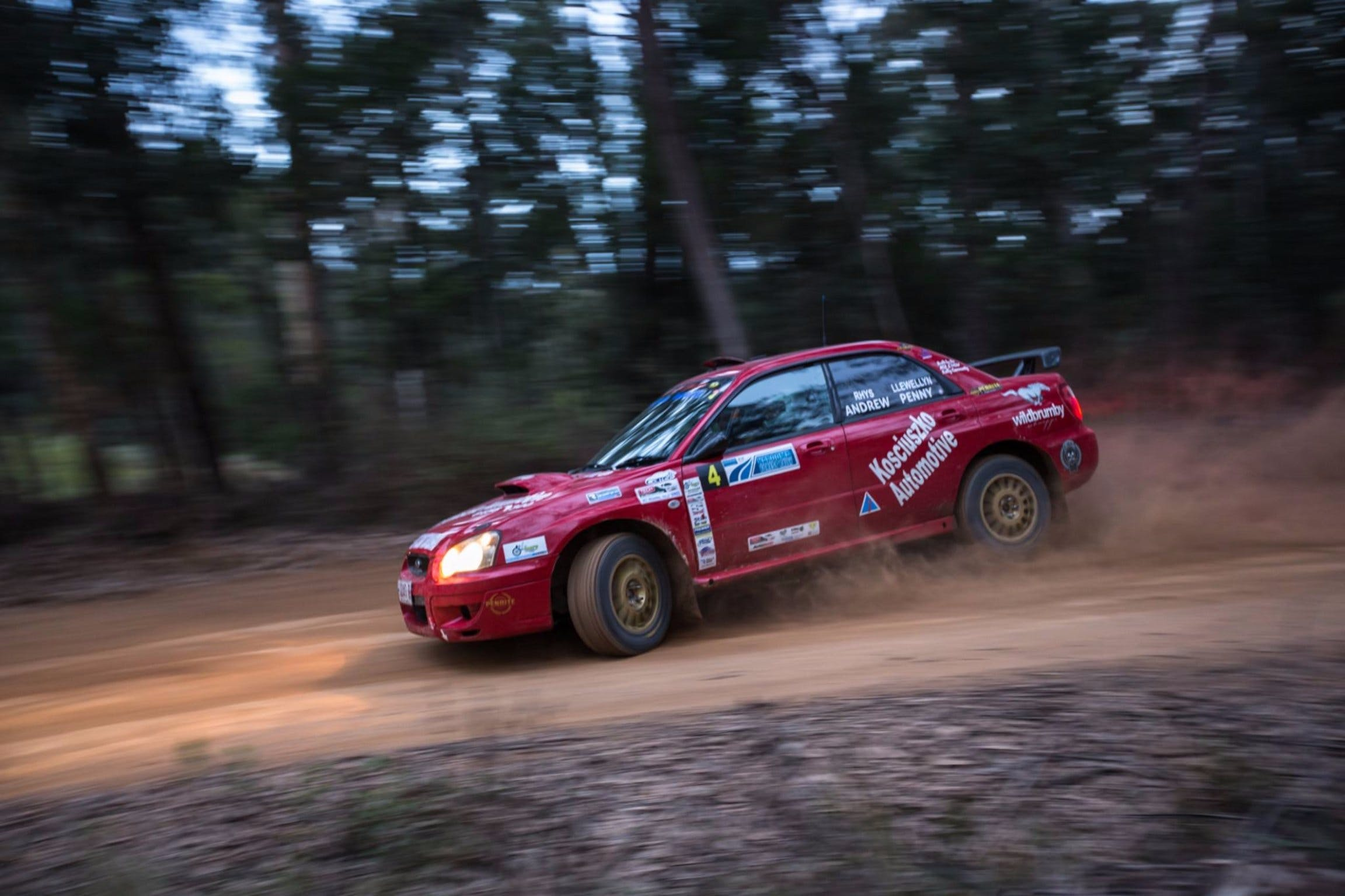 Narooma Forest Rally - Accommodation in Surfers Paradise