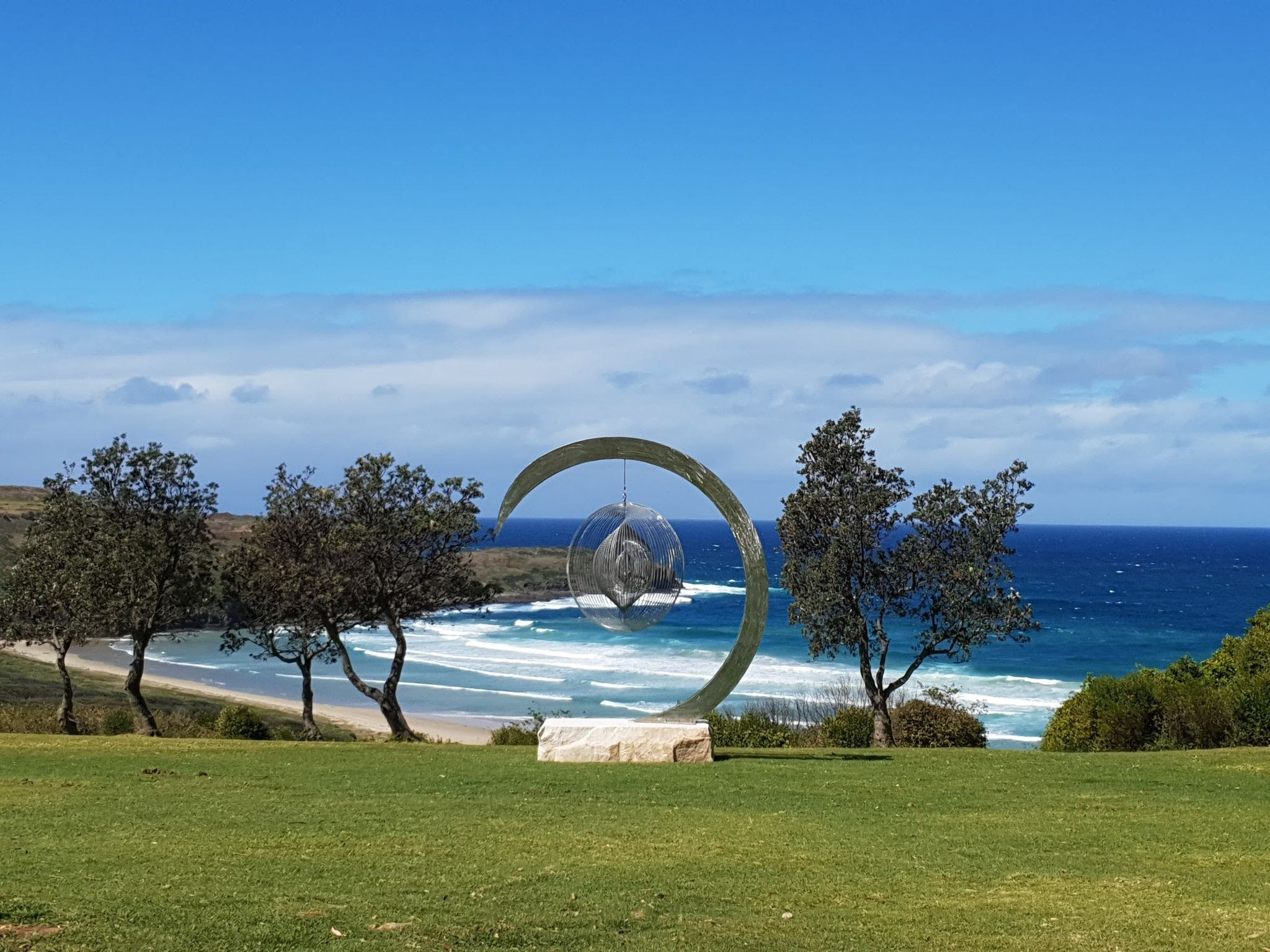 Sculptures at Killalea - Accommodation in Surfers Paradise