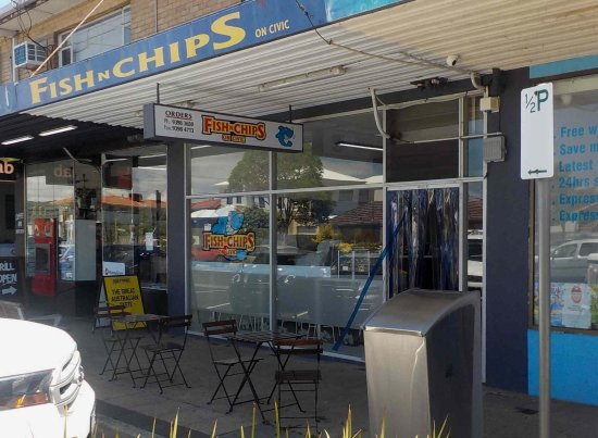 Fish N Chips On Civic - Accommodation in Surfers Paradise