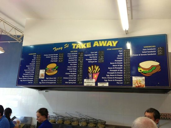 Terry Street Take Away - Accommodation in Surfers Paradise