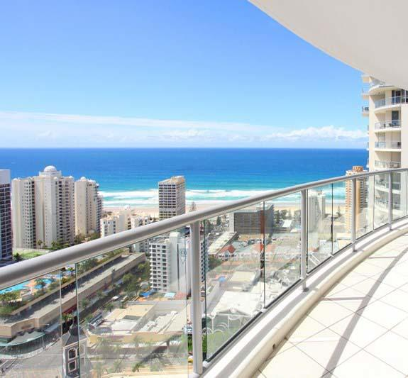 Beach Stay - Ocean  Riverview resort Chevron Renaissance central Surfers Paradise - Accommodation in Surfers Paradise