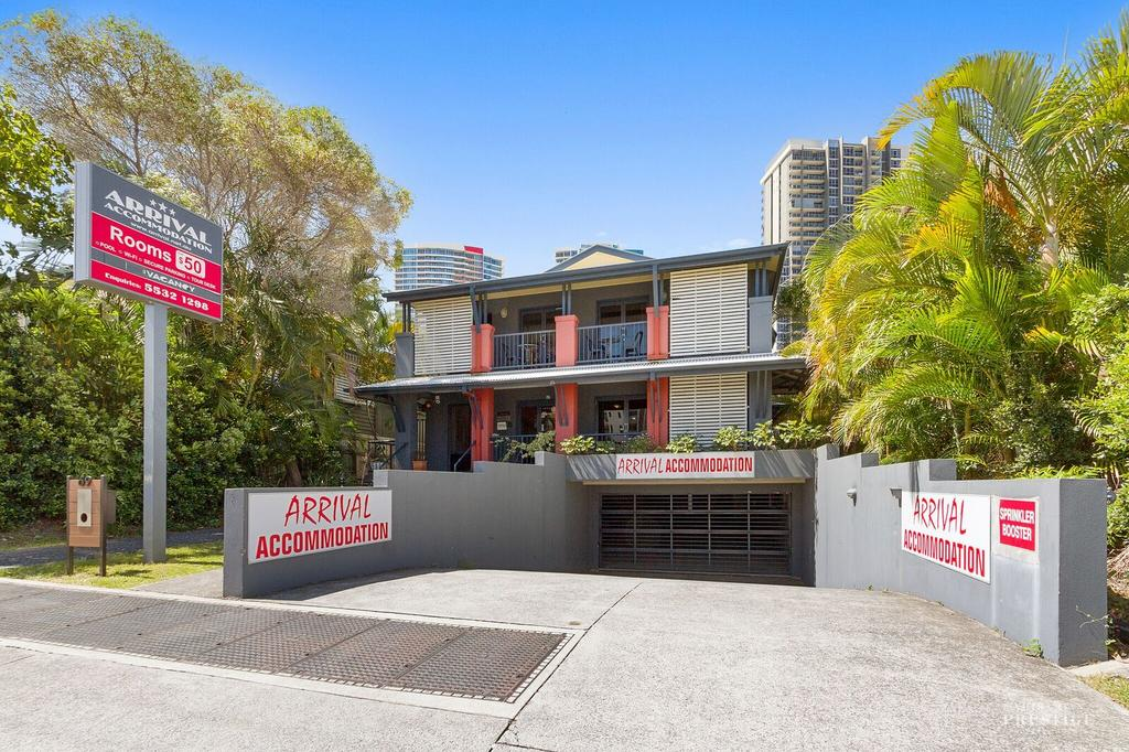 Arrival Lodge Bed  Breakfast - Accommodation in Surfers Paradise